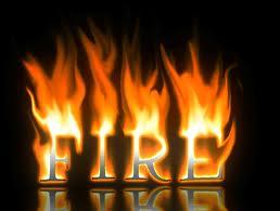 Как сделать огненный текст