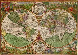 Исторические карты в Фотошопе